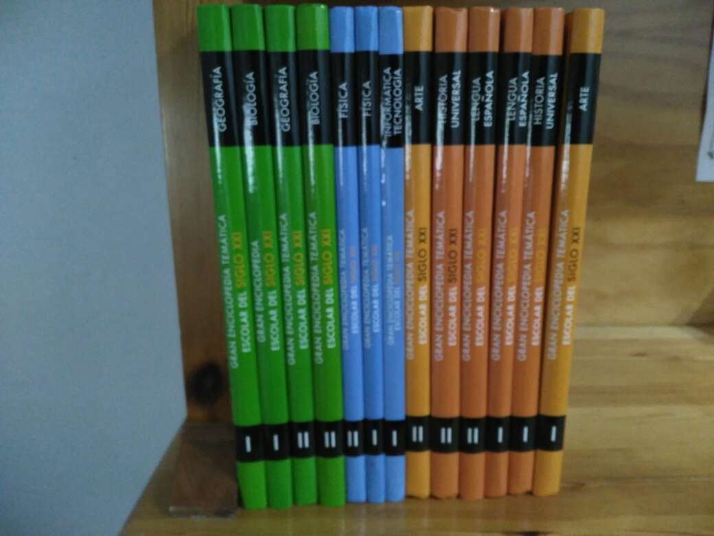 Imagen Enciclopedia temática escolar del siglo XXI
