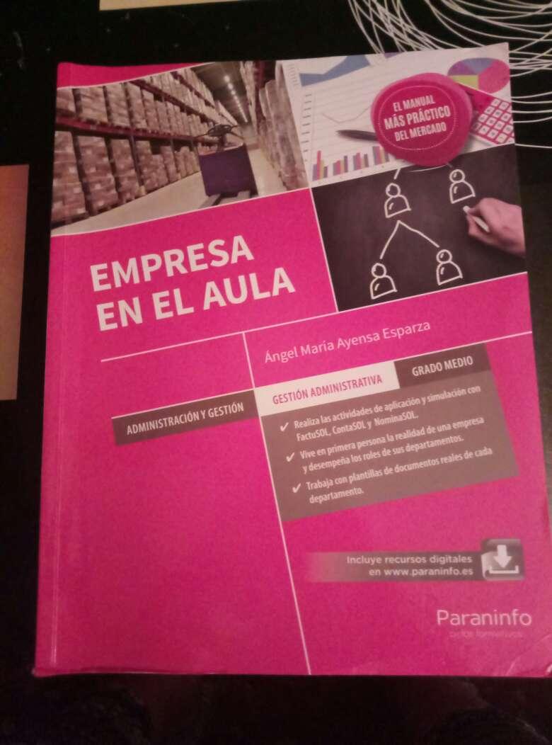 Imagen producto Libros de 1° y 2° Grado medio de Administración 3