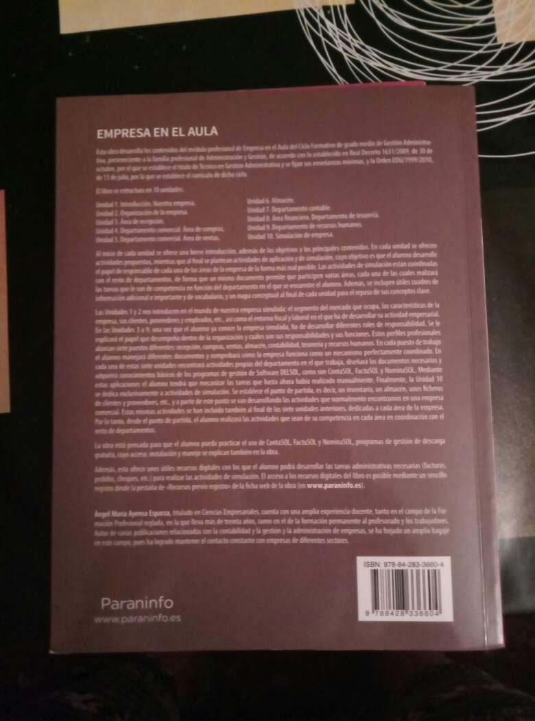 Imagen producto Libros de 1° y 2° Grado medio de Administración 4