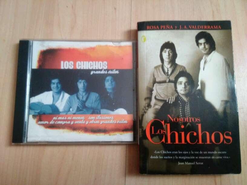 Imagen vendo lote libro de los chichos y disco que dentro del libro estan las canciones