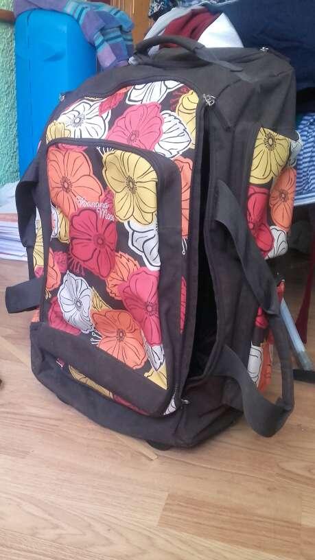 Imagen maleta de flores