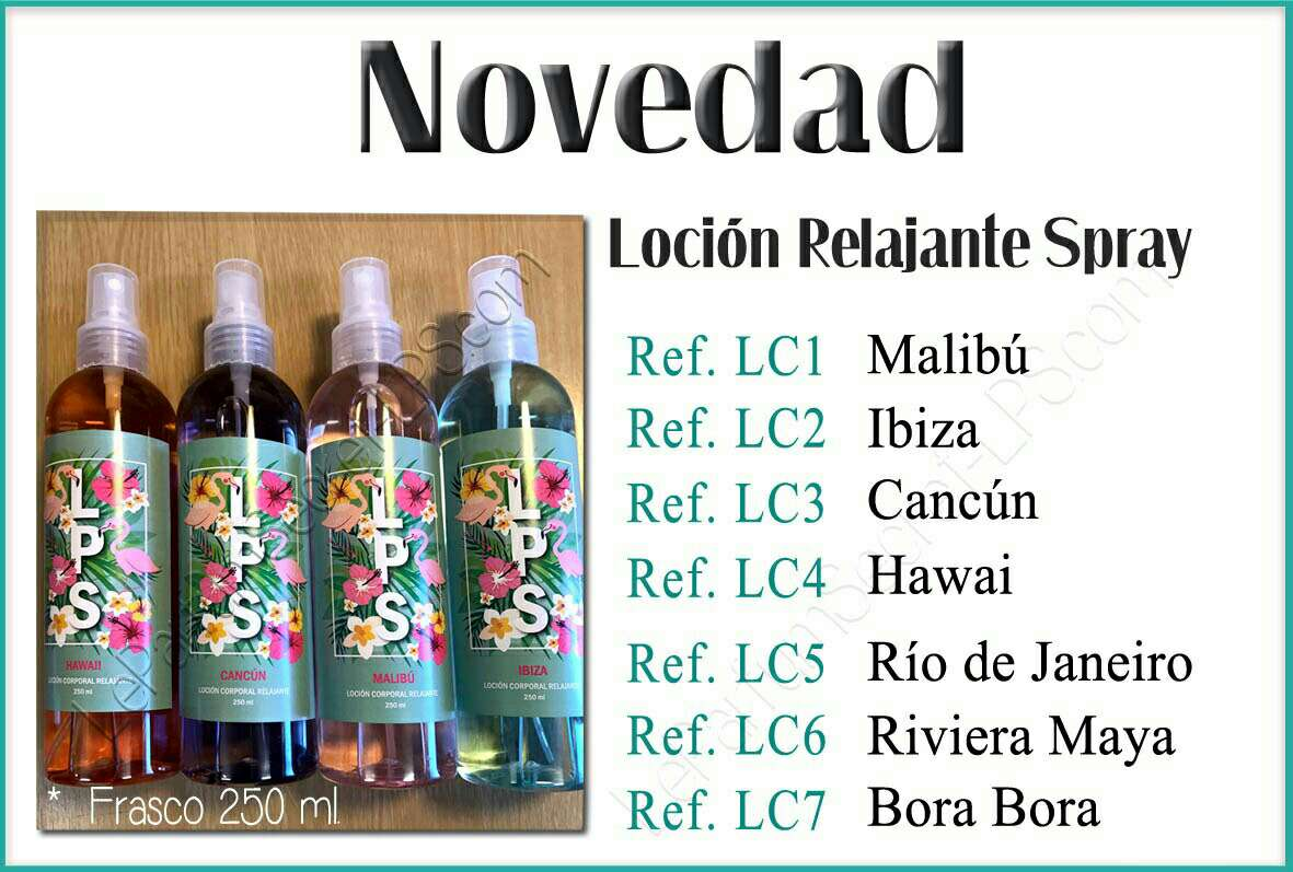 Imagen producto Lociones relajantes Spray 1
