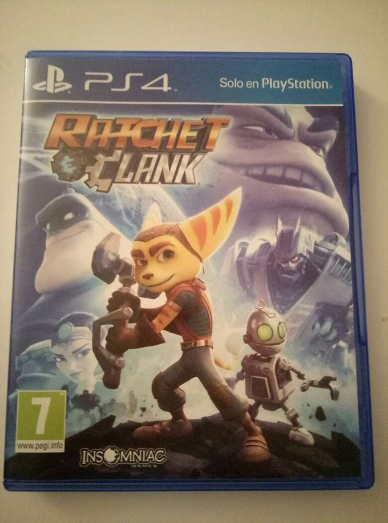 Imagen Ratchet and Clunk PS4