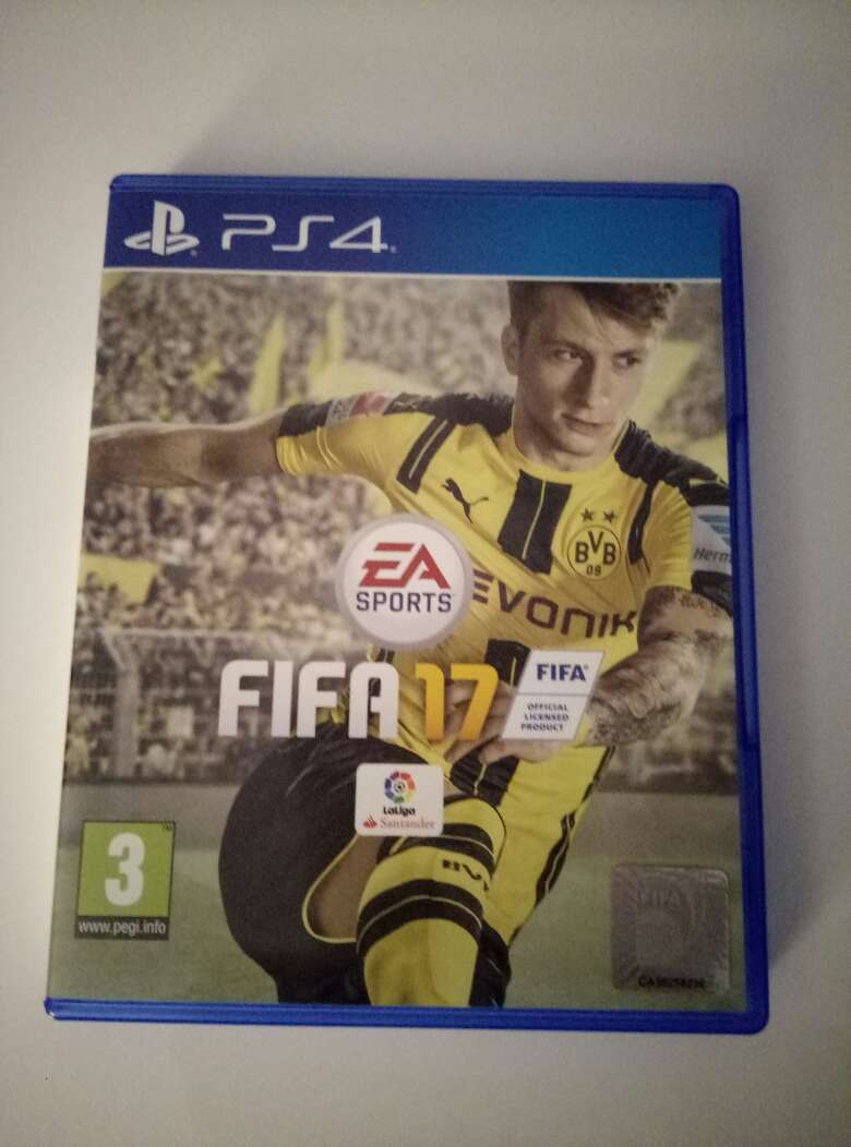 Imagen producto Fifa 17 PS4 1