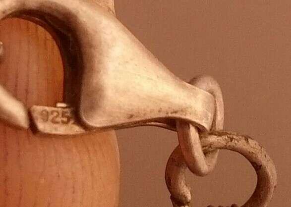 Imagen producto Collar antiguo de la India plata 925 2