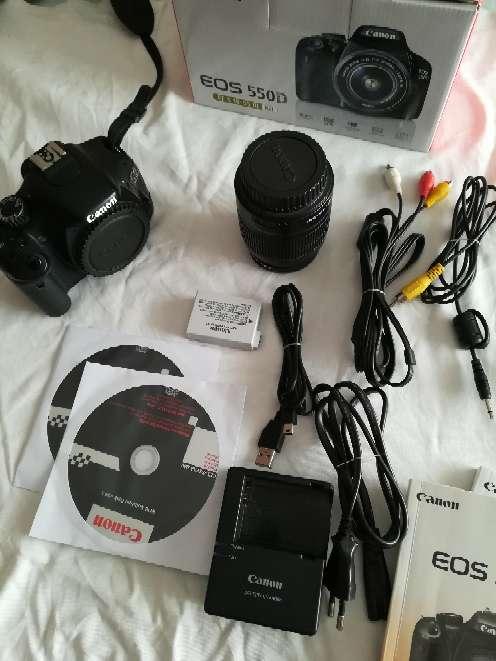 Imagen Canon EOS 550D + 18-55mm