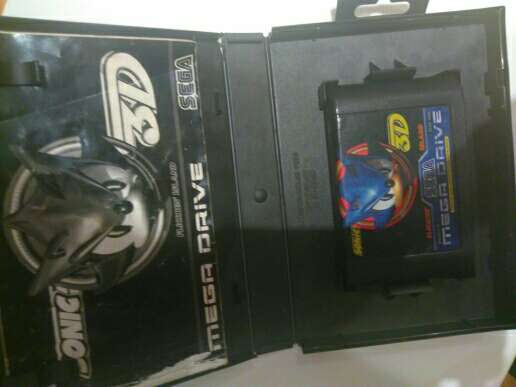 Imagen producto Sonic 3d sega 3