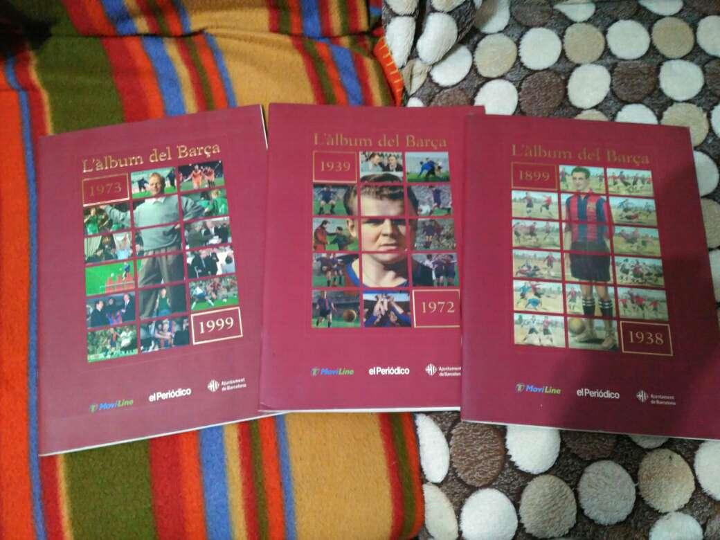 Imagen Álbum del Barça, centenario cromos