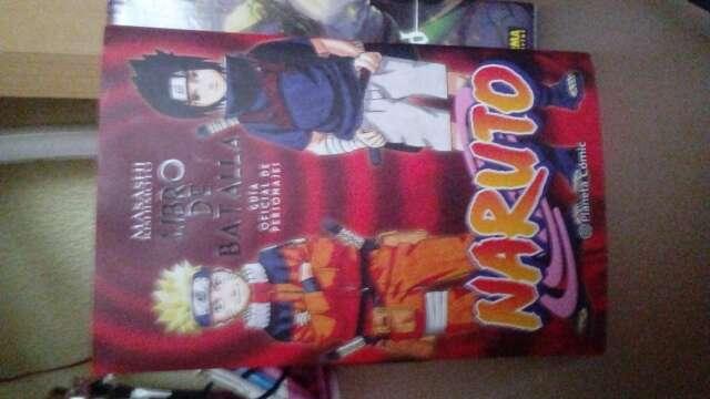 Imagen Libro Batalla Naruto