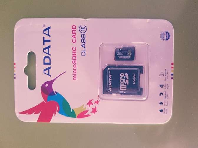 Imagen Micro SD 128gb o 256gb