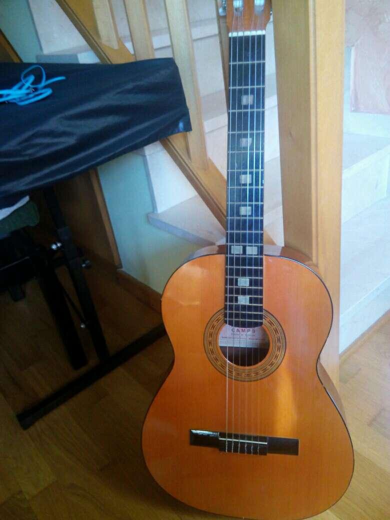Imagen producto Guitarra Preludio Marca Camps+Funda+4 púas 4