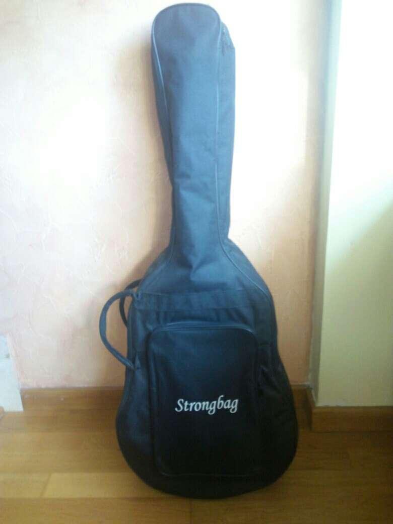 Imagen producto Guitarra Preludio Marca Camps+Funda+4 púas 3