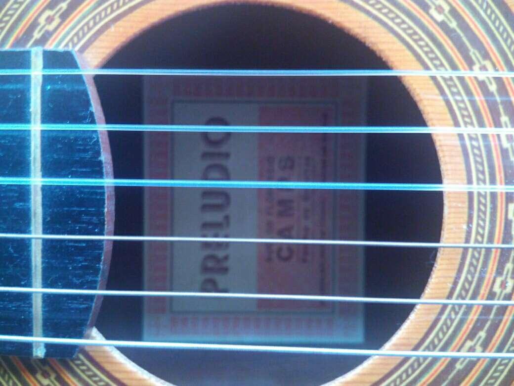 Imagen Guitarra Preludio Marca Camps+Funda+4 púas