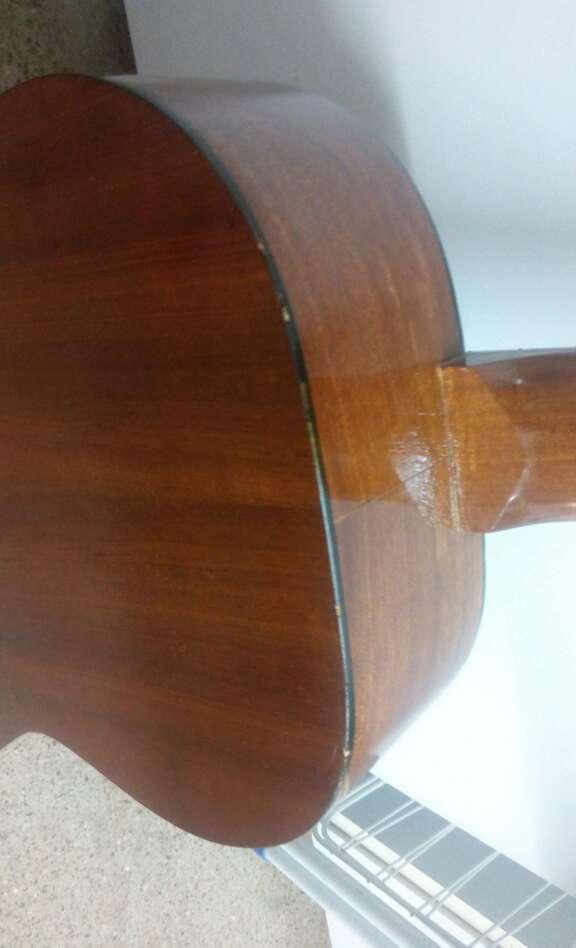 Imagen producto Guitarra Preludio Marca Camps+Funda+4 púas 6