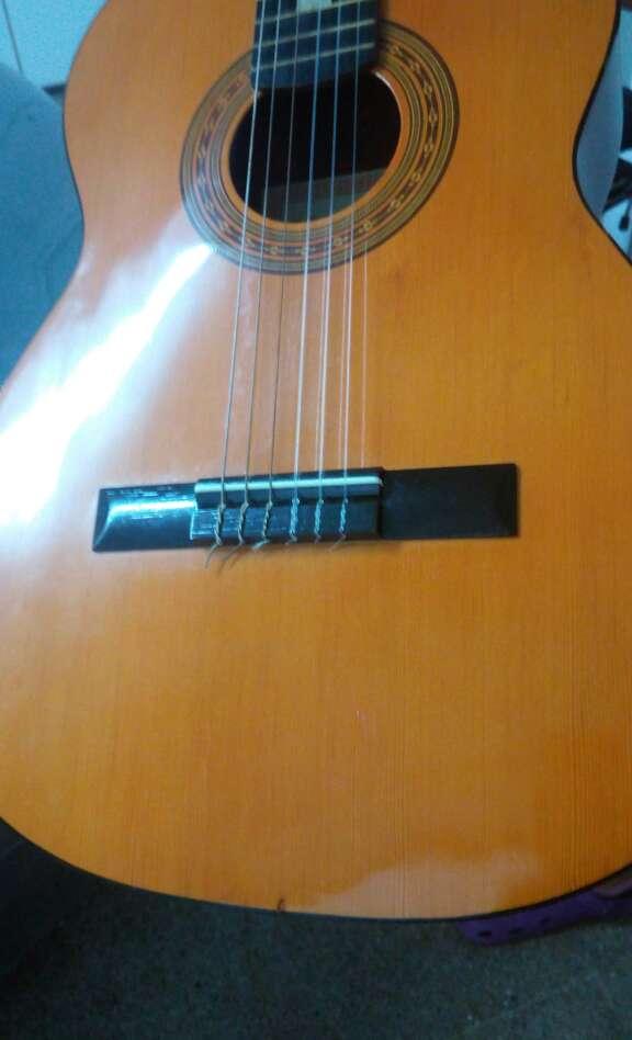 Imagen producto Guitarra Preludio Marca Camps+Funda+4 púas 5