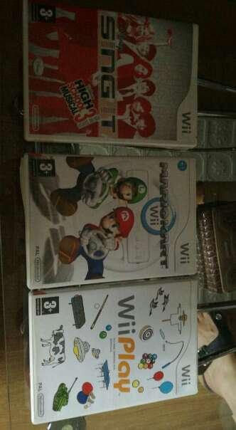 Imagen juegos consola wii