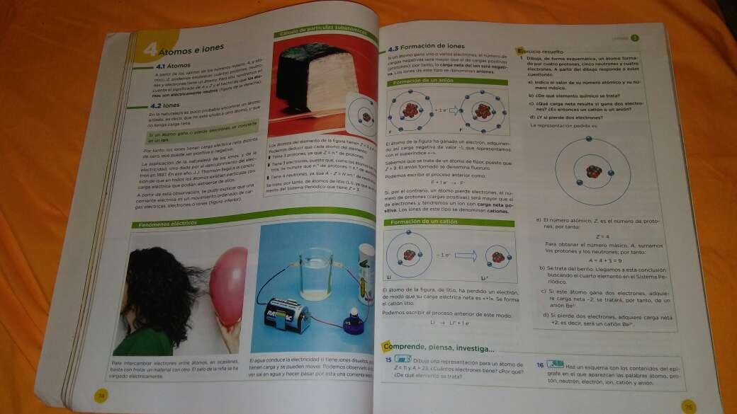 Imagen producto Libro física y quimica 2 eso 2