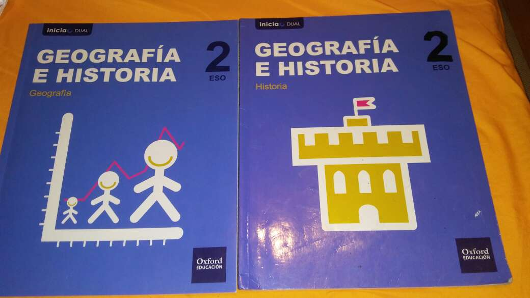 Imagen libros 2 eso geografia e historia