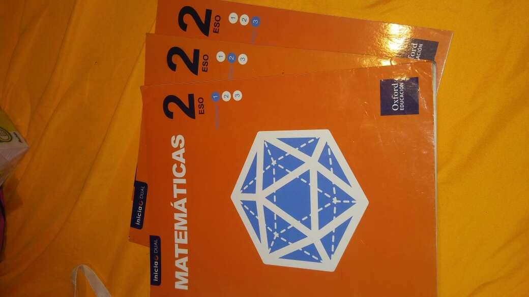 Imagen Libros 2 eso matematicas