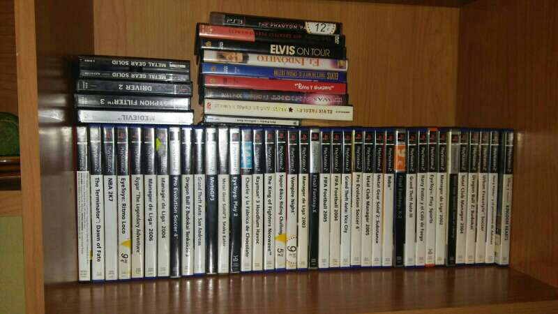 Imagen lote juegos ps2