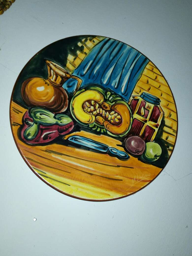 Imagen producto Platos decoración de cerámica 1