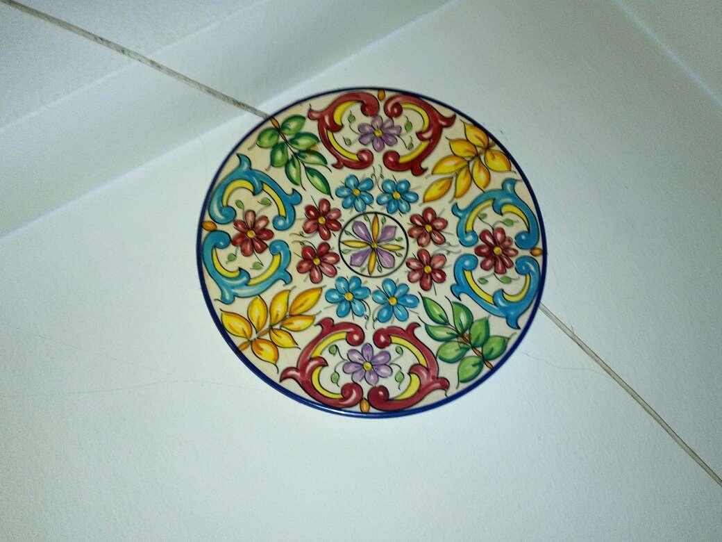 Imagen producto Platos decoración de cerámica 6