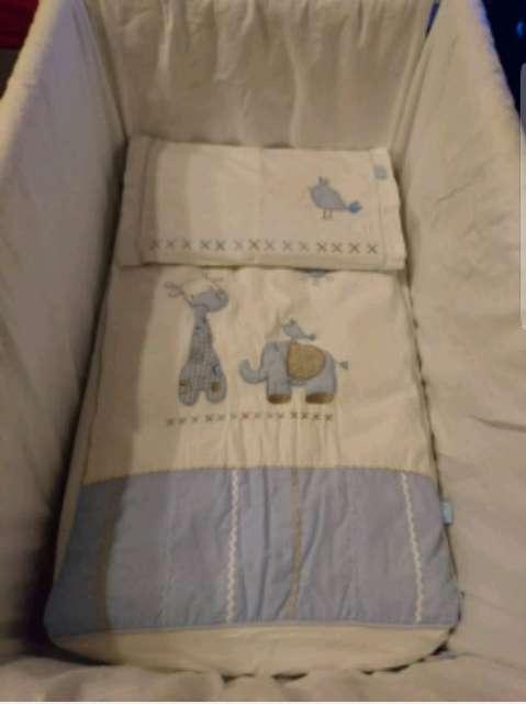 Imagen Minicuna tijera plegable de 0 a 6 meses.