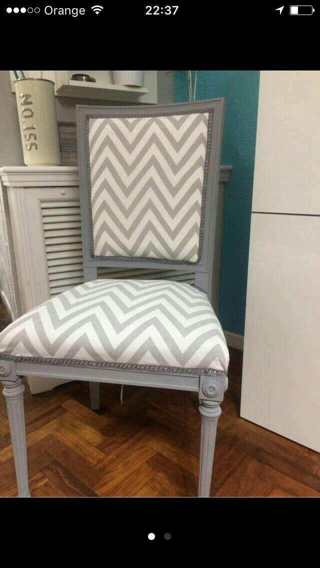 Imagen preciosa silla estilo shabby chic