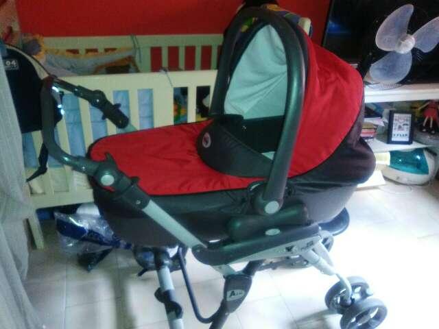 Imagen producto Carro 3 piezas Rojo  4