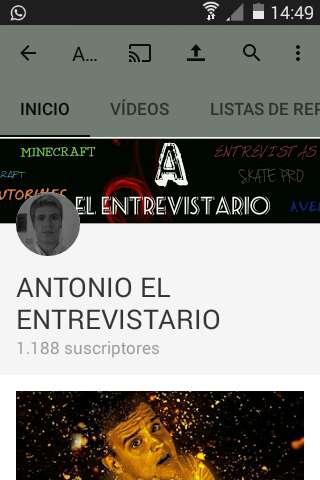 Imagen Canal de YouTube