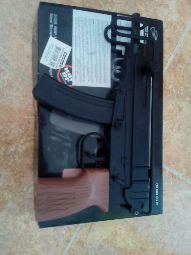 Imagen producto Arma juguete de airsoft:scorpion M37f 3