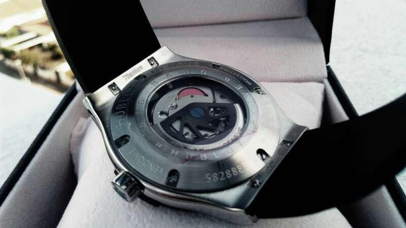 Imagen producto Reloj automático Hblot 3
