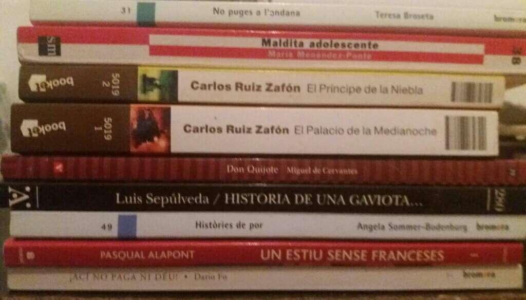 Imagen libros de lectura