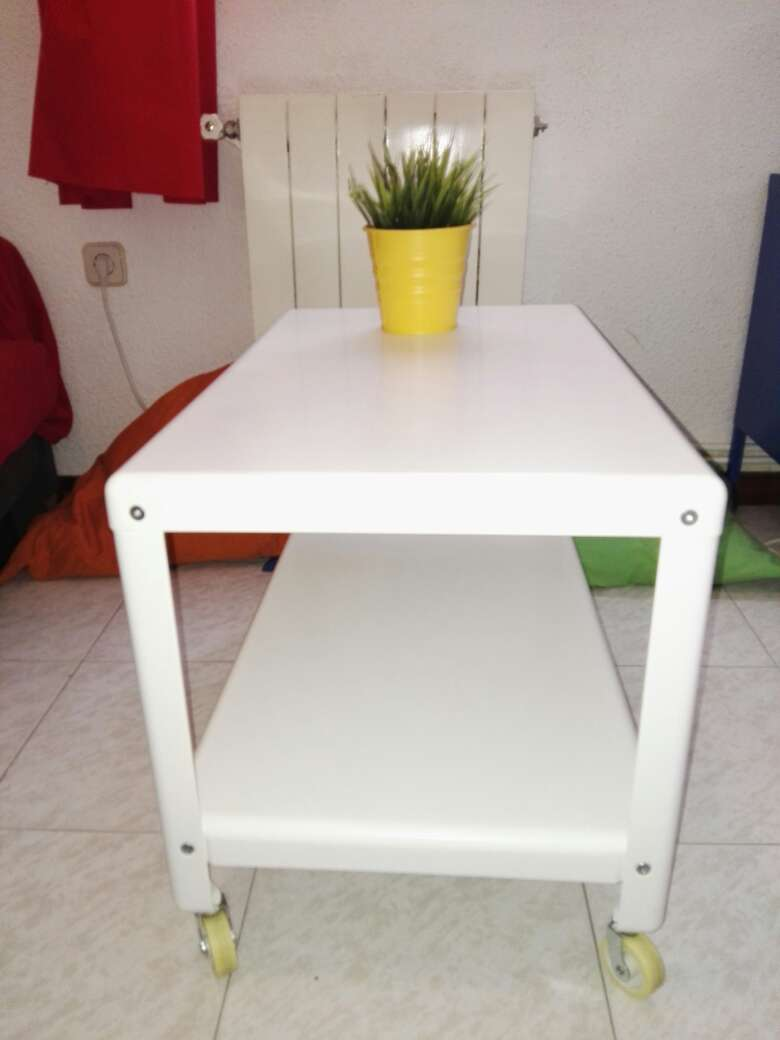 Imagen producto Mesa centro Metal Blanca 2