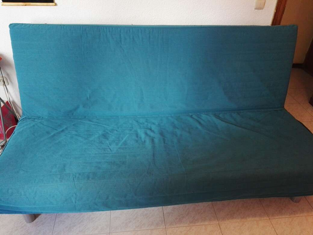 Imagen Sofa Cama Knisa turquoiseIKEA