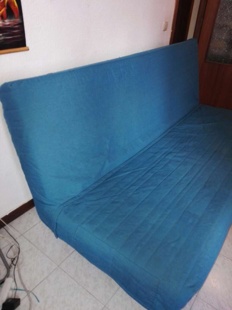 Imagen producto Sofa Cama Knisa turquoiseIKEA 3