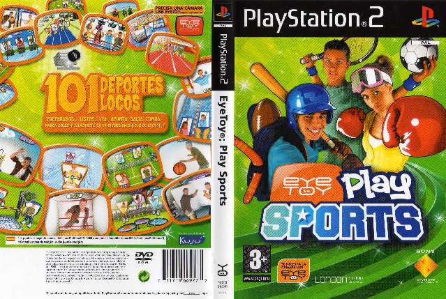 Imagen Eye Toy Play Sports