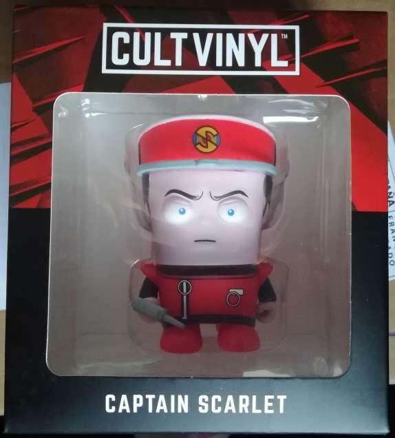 Imagen producto Captain Scarlet - Cultvinyl 1