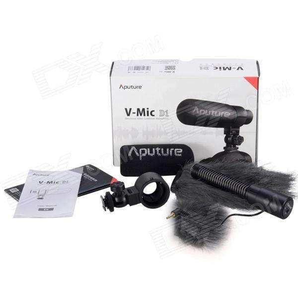Imagen Micrófono Aputure V-mic de direccional condensador