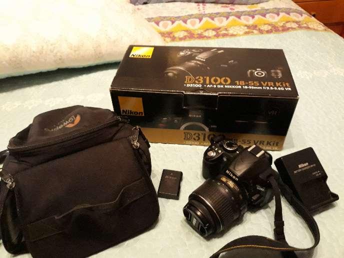 Imagen vendo camara reflex Nikon d3100