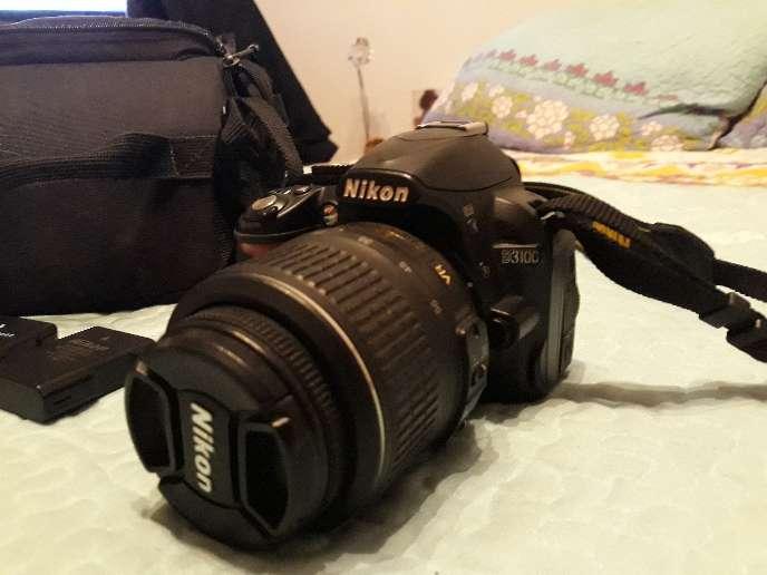 Imagen producto Vendo camara reflex Nikon d3100 4