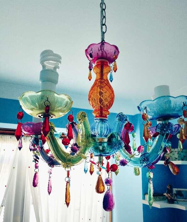 Imagen Lámpara de colores