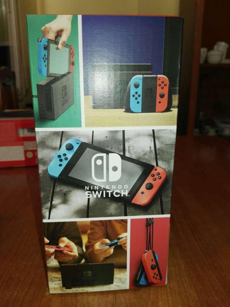 Imagen producto Nintendo Switch Neón nueva 2