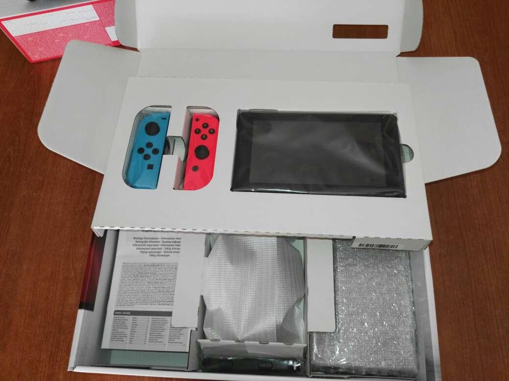 Imagen producto Nintendo Switch Neón nueva 5
