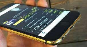 Imagen iphone 6plus gold