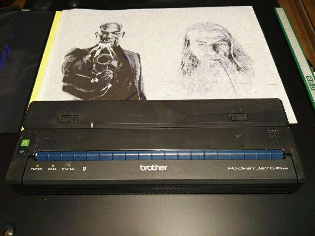 Imagen producto Termocopiadora Brother Pocketjet PJ 663 3