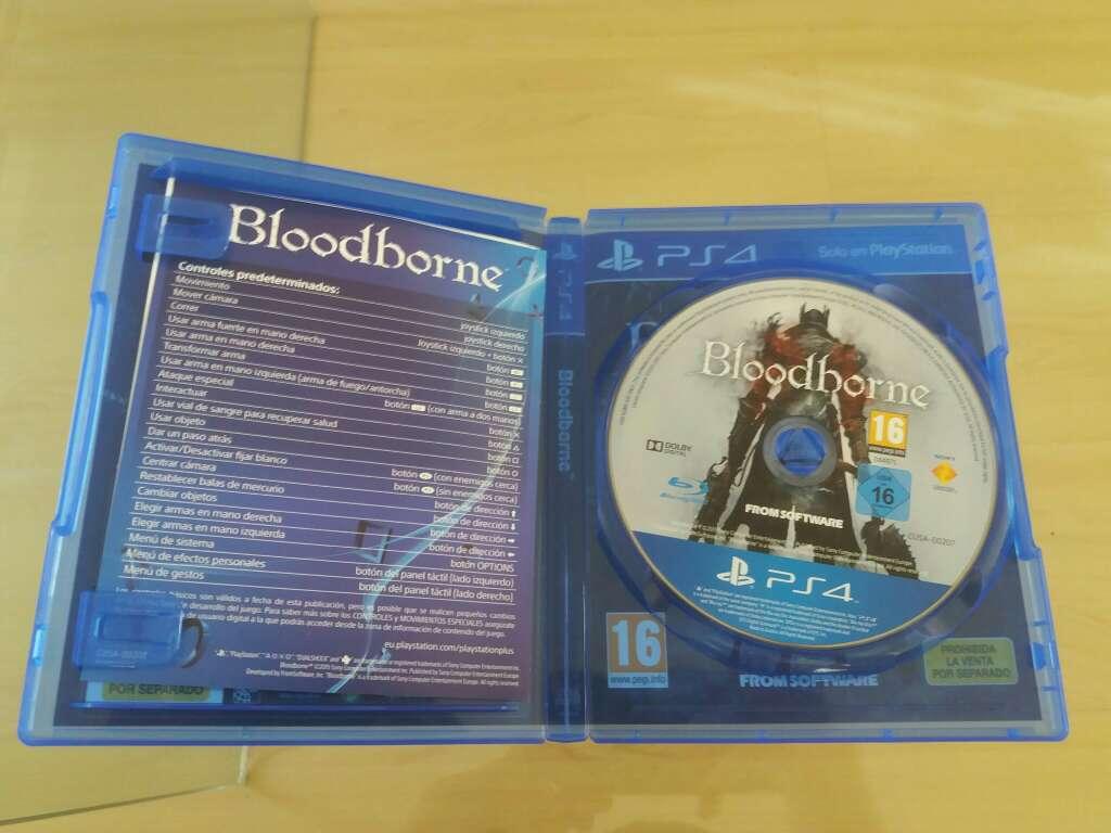 Imagen producto Bloodborne para PS4 2