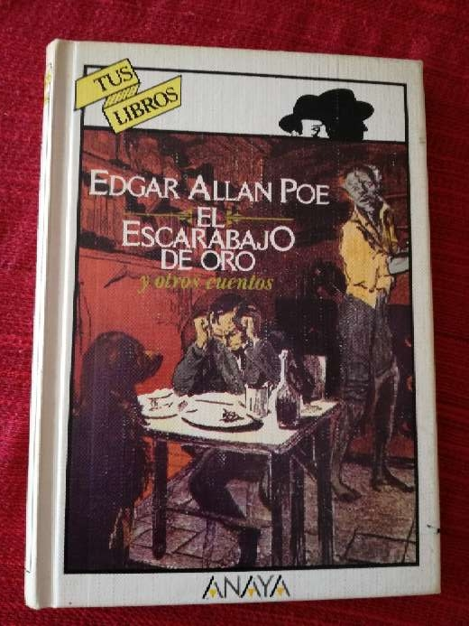 Imagen El escarabajo de oro, Edgar Allan Poe