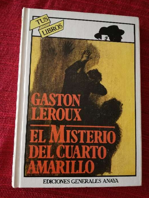 Imagen El misterio del cuarto amarillo, Gastón Leroux