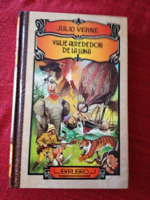 Imagen Viaje alrededor de la luna, Julio Verne